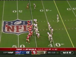 12月8日 2020-21赛季NFL橄榄球大联盟 旧金山人VS布法罗比尔 英语